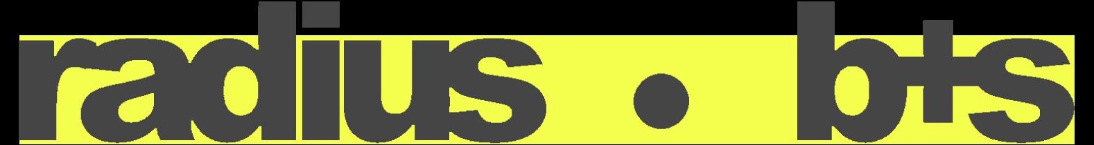 Radius B+S logo